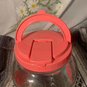 Vintage Kitchen - Vintage pink watermelon lemonade spout pitcher